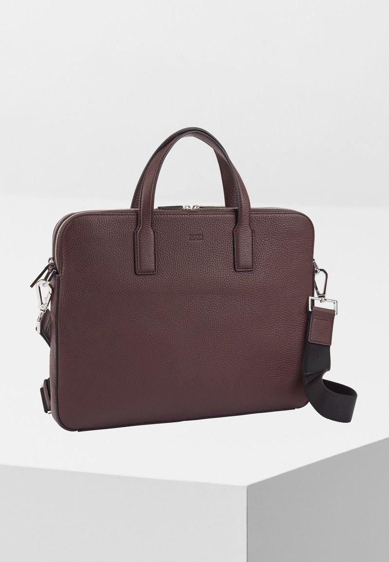 BOSS - CROSSTOWN - Briefcase - dark red