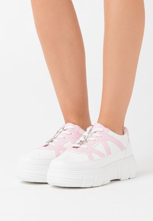 VEGAN AIYA - Trainers - white/pink