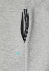 Quiksilver - OHOPE CARVE PANT - Tracksuit bottoms - light grey heather - 3