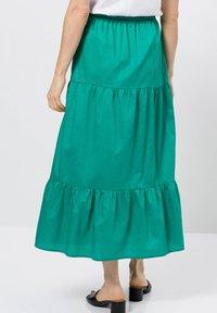zero - A-line skirt - emerald green - 2
