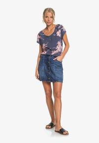 Roxy - BAYWATCH GIRL - Denim skirt - dark indigo - 1