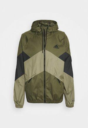 WIND.RDY - Waterproof jacket - focus olive/black