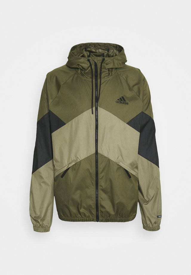 WIND.RDY - Impermeabile - focus olive/black
