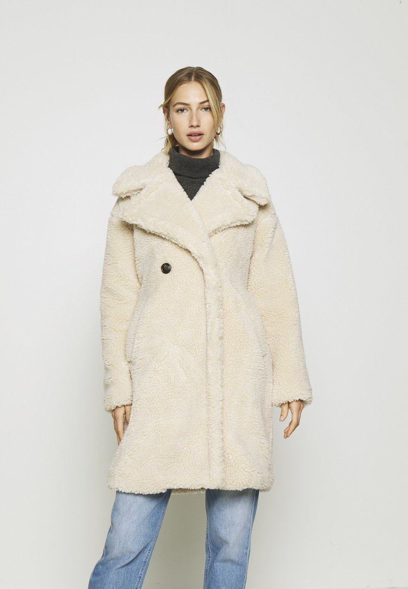 Vero Moda - VMLYNNE JACKET - Short coat - oatmeal