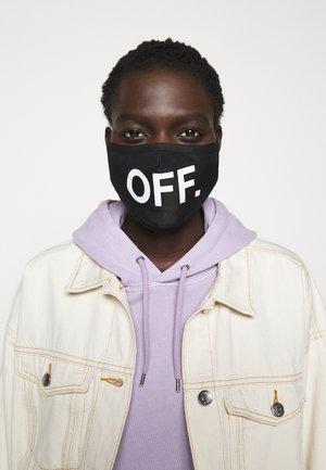 FACE MASK OFF 2 PACK - Stoffmaske - black