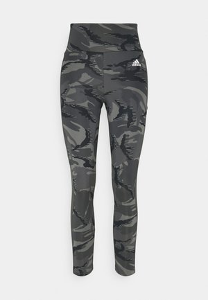 CAMO - Leggings - gresix/white