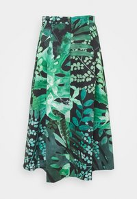 MAX&Co. - FREDDURA - A-linjainen hame - green pattern - 1