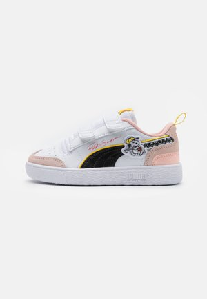 PEANUTS RALPH SAMPSON UNISEX - Sneaker low - white/black/sun kissed coral