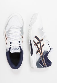 ASICS - GEL-ROCKET 9 - Volleyball shoes - white/peacoat - 1