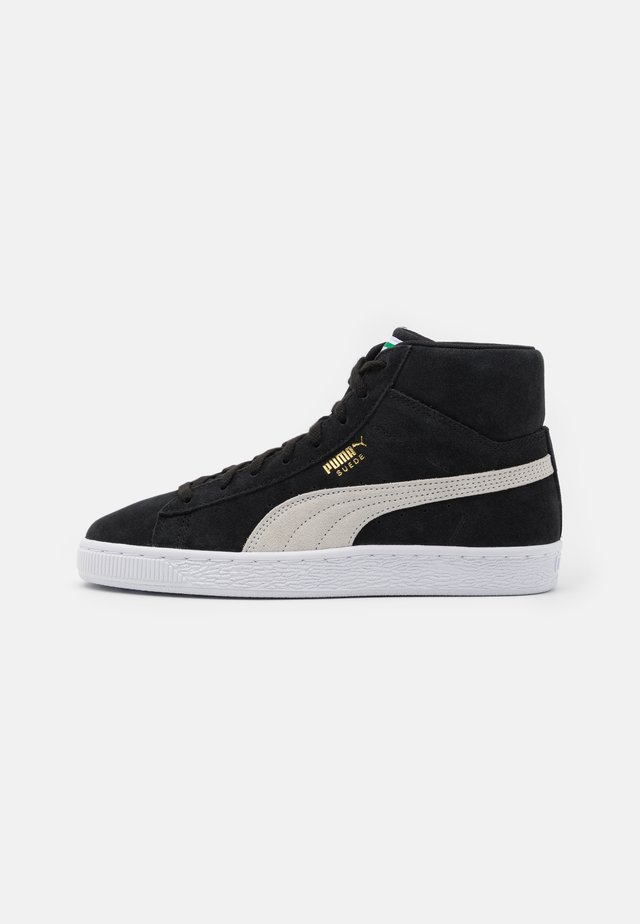 SUEDE MID XXI UNISEX - High-top trainers - black/white/green