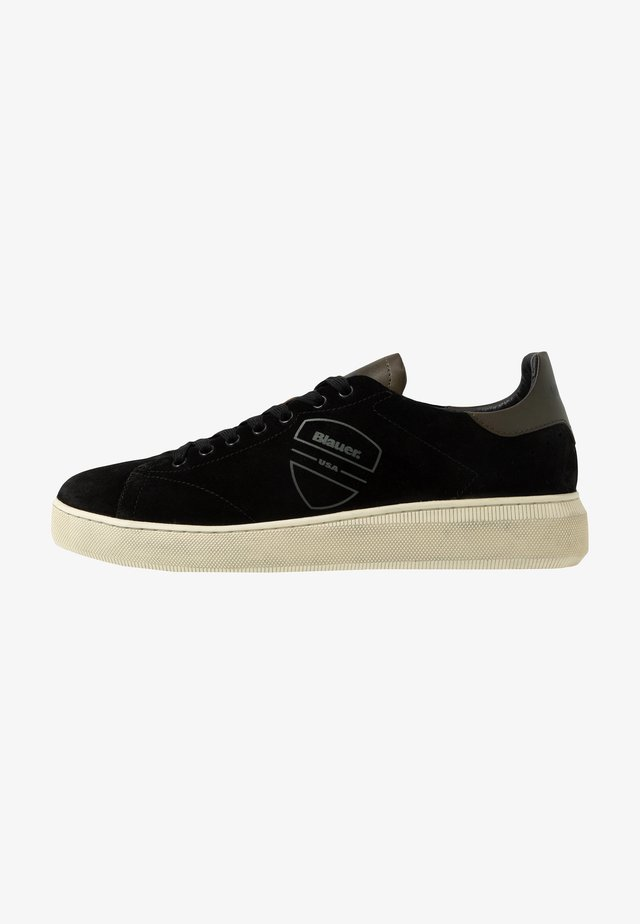 KEITH - Baskets basses - black