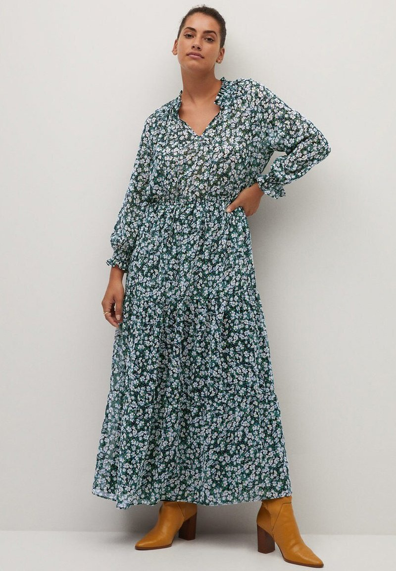 Violeta by Mango - PARADIS - Maxi dress - blau