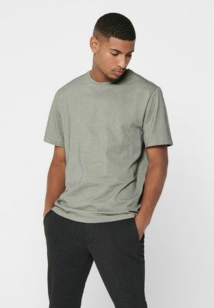 Basic T-shirt - gray