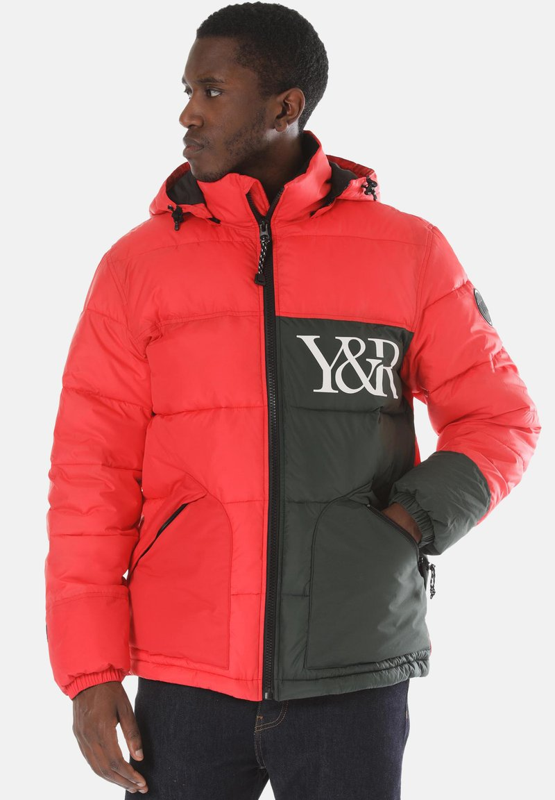 Young and Reckless - Winter jacket - red