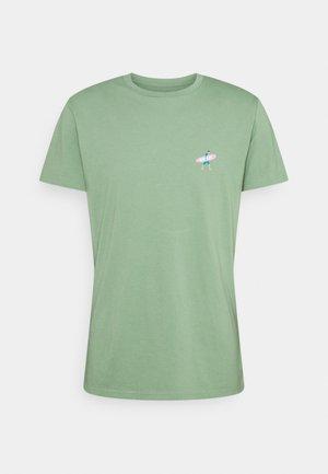 REGULAR - Print T-shirt - light green