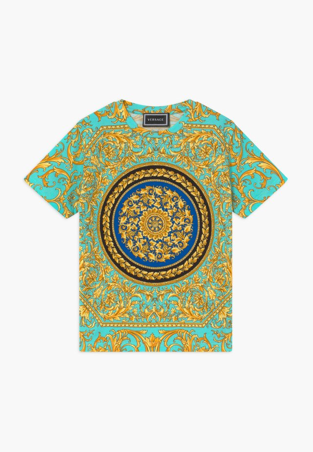 MANICA CORTA - Print T-shirt - verde