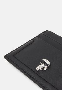 KARL LAGERFELD - IKONIK 3D PIN CARD HOLDER - Business card holder - black - 3