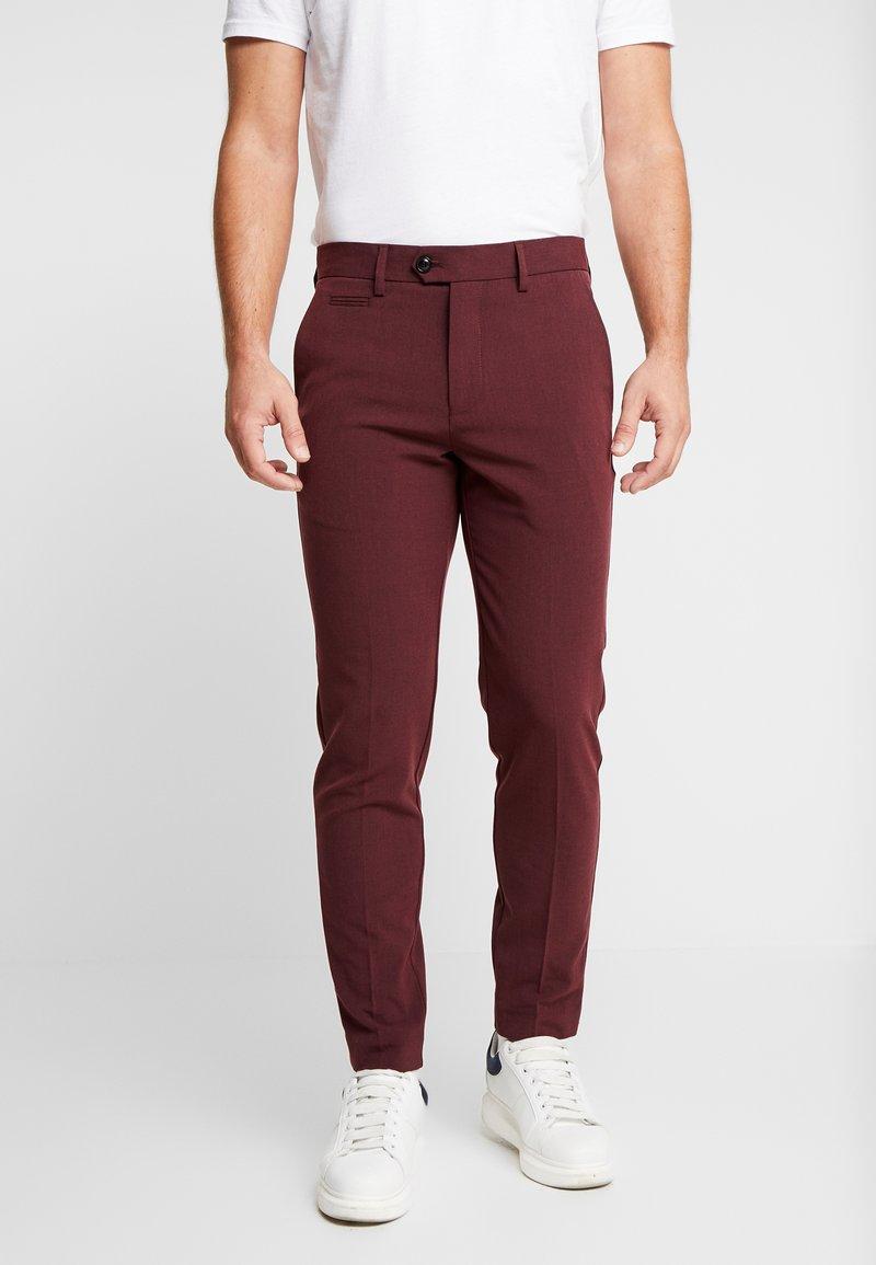 Lindbergh - CLUB PANTS - Trousers - red