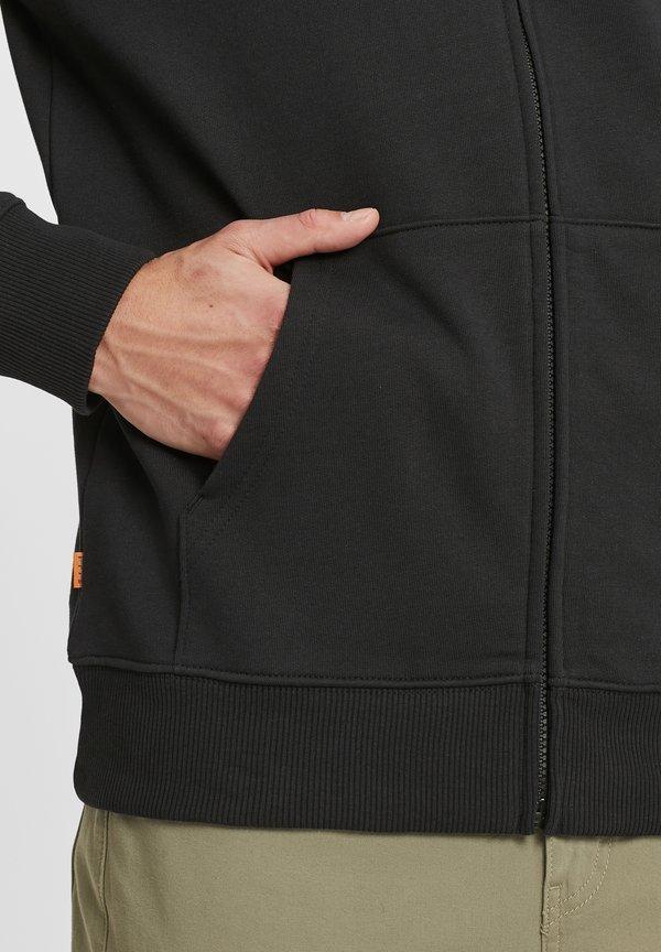 Timberland Bluza - black/white/czarny Odzież Męska HMZQ