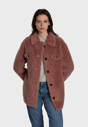 PENELOPE - Winter coat - old pink