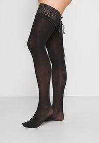Ann Summers - HOLD UPS - Overknee-strømper - black - 1