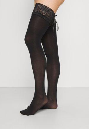 HOLD UPS - Overknee-strømper - black