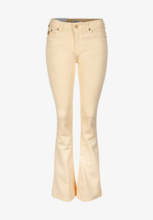 Jeans bootcut - megalia summertime double cream