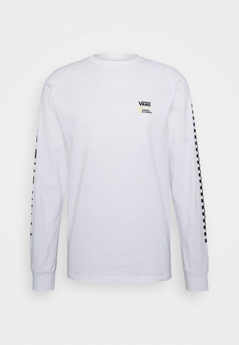 Vans - VANS X NATIONAL GEOGRAPHIC GLOBE  - Långärmad tröja - white