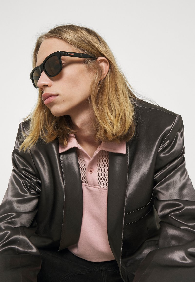 Gucci - UNISEX - Sonnenbrille - black/brown