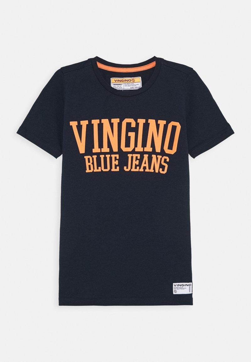 Vingino - HAI - Print T-shirt - dark blue