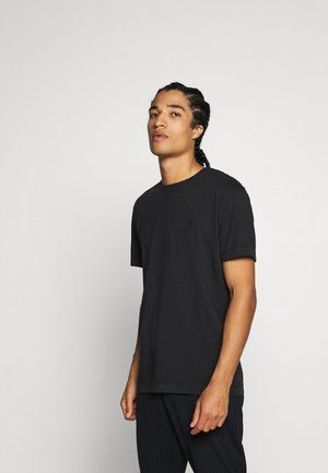 JJEWASHED TEE O NECK - Camiseta básica - black