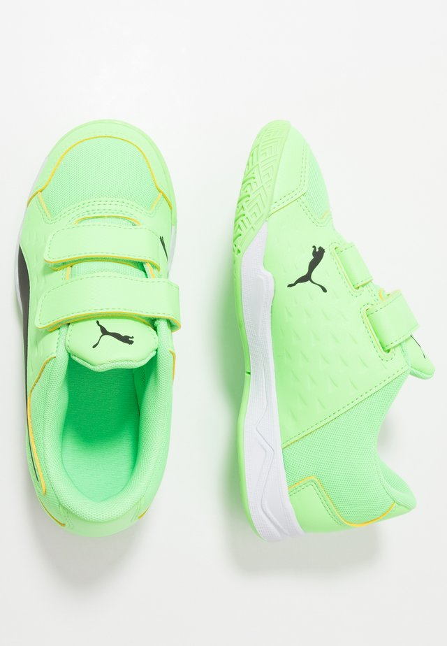 AURIZ V - Sports shoes - elektro green/black/white