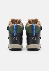 Finkid - LAPPI UNISEX - Zimní obuv - bronze green/graphit - 2