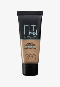 Maybelline New York - FIT ME MATTE & PORELESS MAKE-UP - Foundation - 350 caramel - 0
