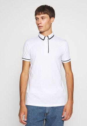 VIRGIL - Polo shirt - optic white/jet black