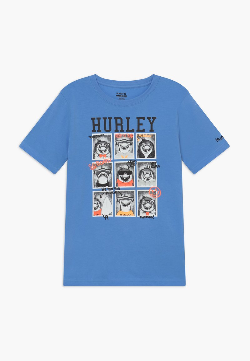 Hurley - CLASS  - Print T-shirt - light blue