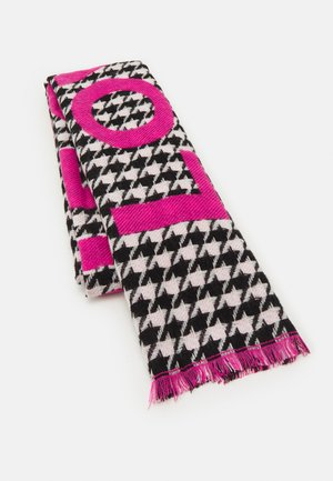 LOVE PIECE DOGTOOTH - Sjal / Tørklæder - dark pink