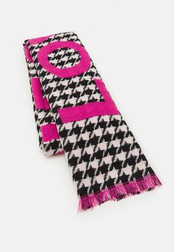 LOVE PIECE DOGTOOTH - Sjal - dark pink