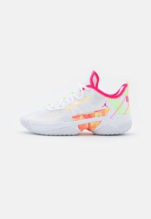 ONE TAKE II - Obuwie do koszykówki - white/hyper pink/lime glow/citron pulse