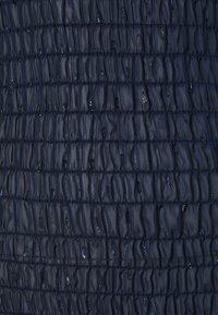 Never Fully Dressed Tall - SHEER SHIRRED MIDI DRESS - Maksimekko - navy - 2