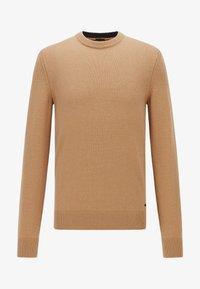BOSS - KONTREAL - Stickad tröja - beige - 4