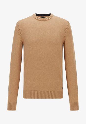 KONTREAL - Stickad tröja - beige