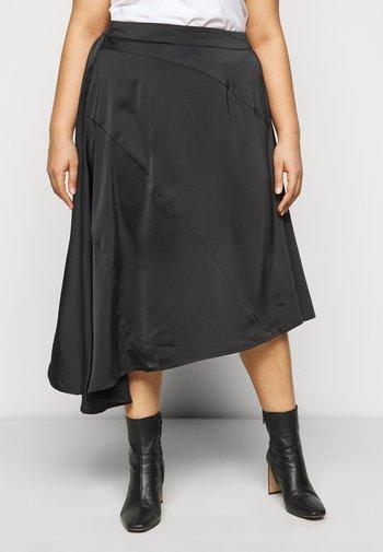 VMBLYSS CALF SKIRT - A-line skirt - black