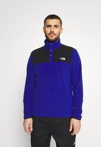 The North Face - GLACIER SNAP NECK - Fleece jumper - bolt blue/black - 0