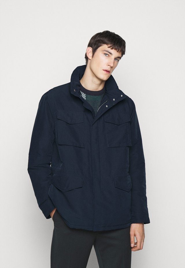 WINTER FIELD - Korte jassen - navy blue