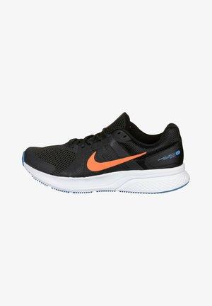 Sneakers - dark smoke grey total orange black coast