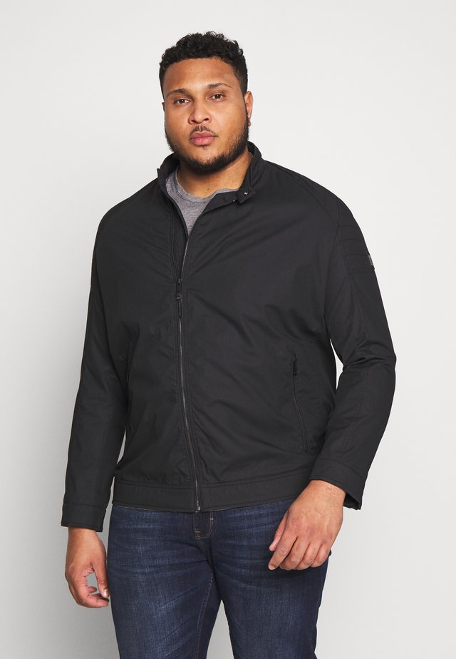 ROVIGO PLUS - Bomber bunda - black
