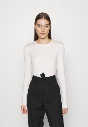 LAVA LONGSLEEVE - Long sleeved top - white dusty