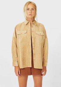 Stradivarius - Summer jacket - beige - 0