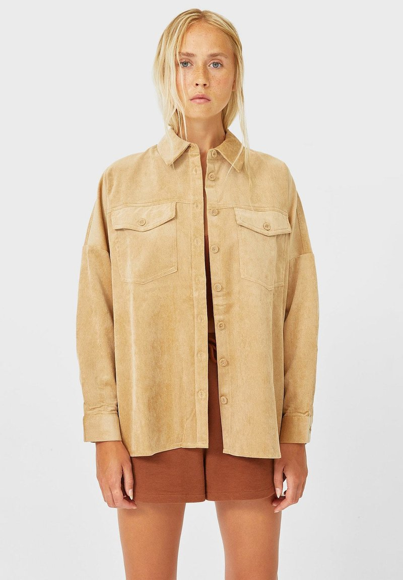 Stradivarius - Summer jacket - beige